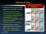 defining vlans1