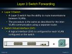 layer 3 switch forwarding