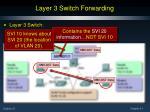 layer 3 switch forwarding1