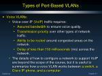 types of port based vlans5