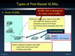 types of port based vlans6