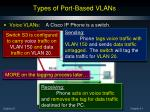 types of port based vlans8