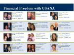 financial freedom with usana
