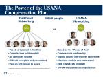the power of the usana compensation plan
