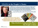usana is the people s choice