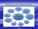 good clil pedagogy