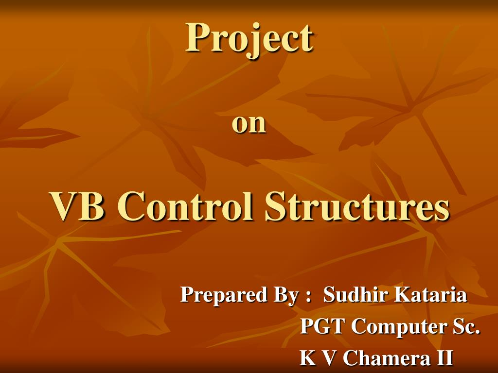 project on vb control structures l.