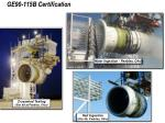 ge90 115b certification