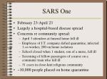 sars one