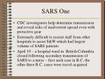 sars one31