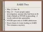 sars two