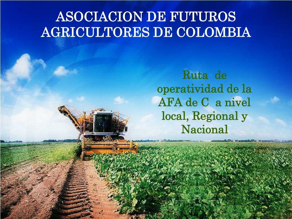 asociacion de futuros agricultores de colombia l.