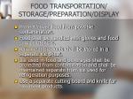 food transportation storage preparation display10