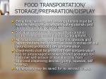 food transportation storage preparation display11