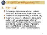 1 why vat