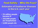 food safety why the fuss