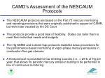 camd s assessment of the nescaum protocols