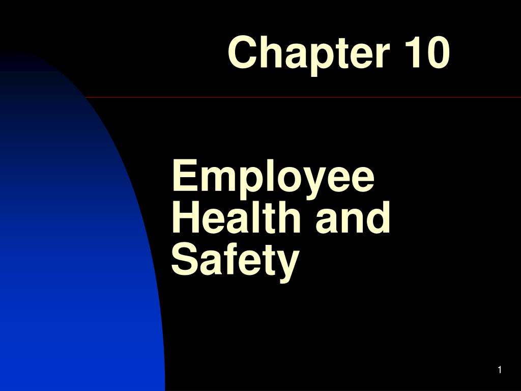 employee health and safety l.