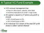 a typical vc fund example