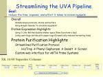 streamlining the uva pipeline19