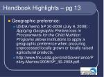 handbook highlights pg 1322