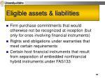 eligible assets liabilities23