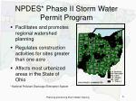 npdes phase ii storm water permit program6