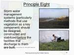 principle eight