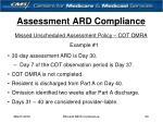 assessment ard compliance24