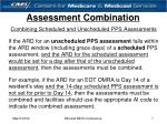 assessment combination