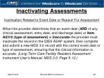 inactivating assessments28