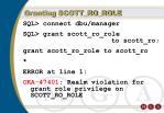 granting scott ro role