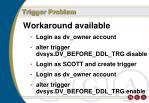 trigger problem117