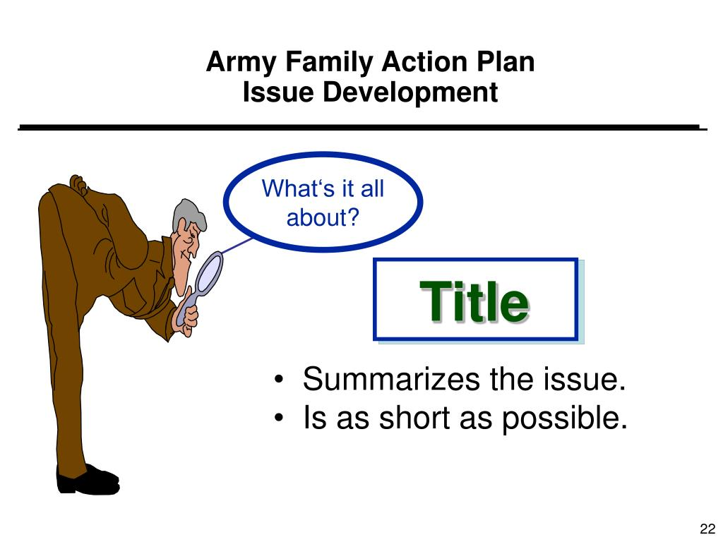 Army Family Action Plan