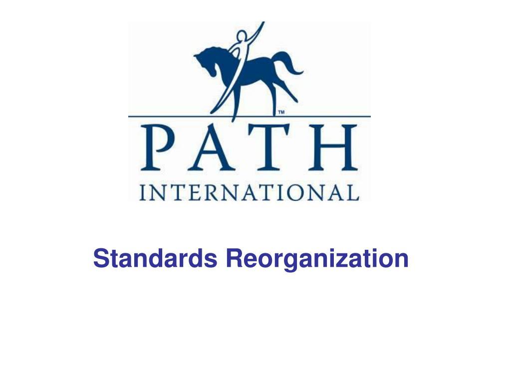 standards reorganization l.