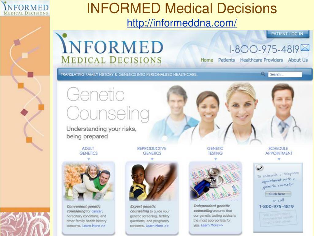INFORMED Medical Decisions