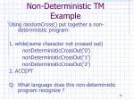non deterministic tm example16