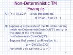 non deterministic tm example17