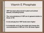 vitamin e phosphate
