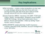 key implications46