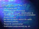 the ego das ich the i