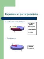 populisme et partis populistes17