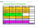 studienplan master 2 schwerpunkte
