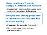 major healthcare trends in europe n america and australia