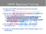 vrap approved training