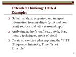 extended thinking dok 4 examples
