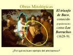obras mitol gicas