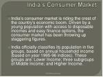 india s consumer market