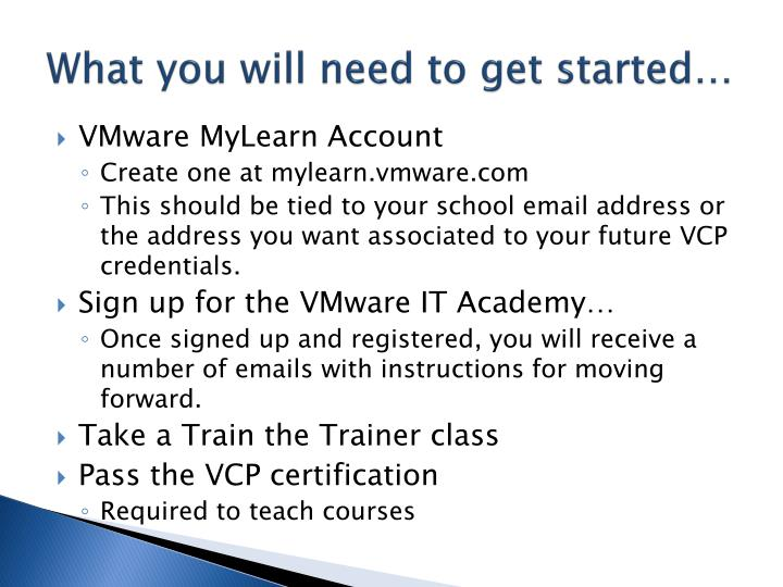 Ppt Vmware Certified Professional Powerpoint Presentation Id783389