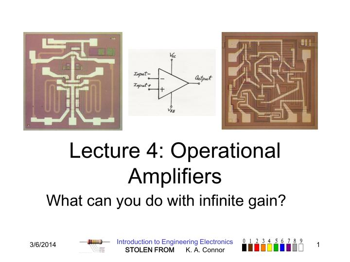 lecture 4 operational amplifiers n.
